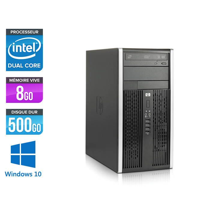 HP 6300 Pro Tour - 8Go - 500Go HDD - Windows 10