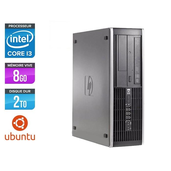 HP 6300 Pro SFF - i3 - 8Go- 2To HDD - Ubuntu / Linux