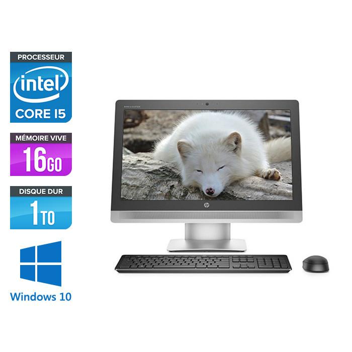 Tout-en-un HP EliteOne 800 G2 AiO - 16Go -1To HDD - Windows 10