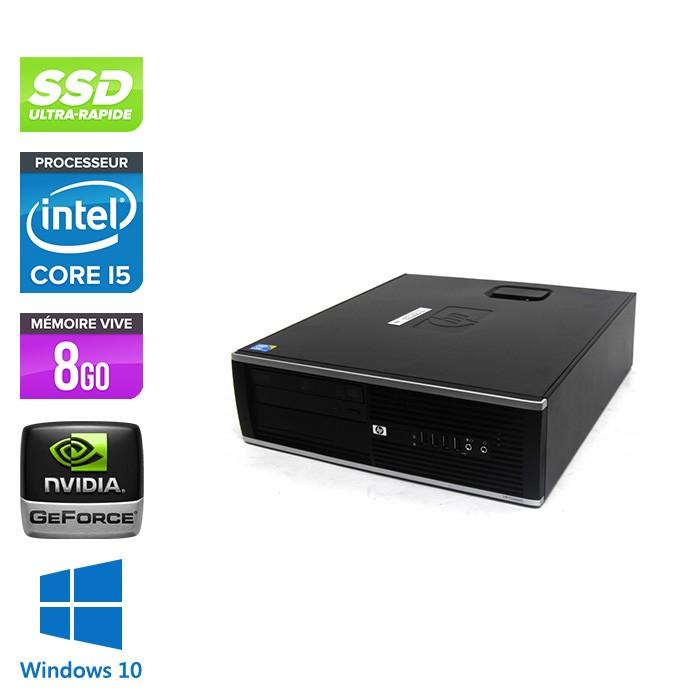 HP 8100 SFF - Intel Pentium G6950 - 8Go - Nvidia GT1030 - 500 Go - Windows 10