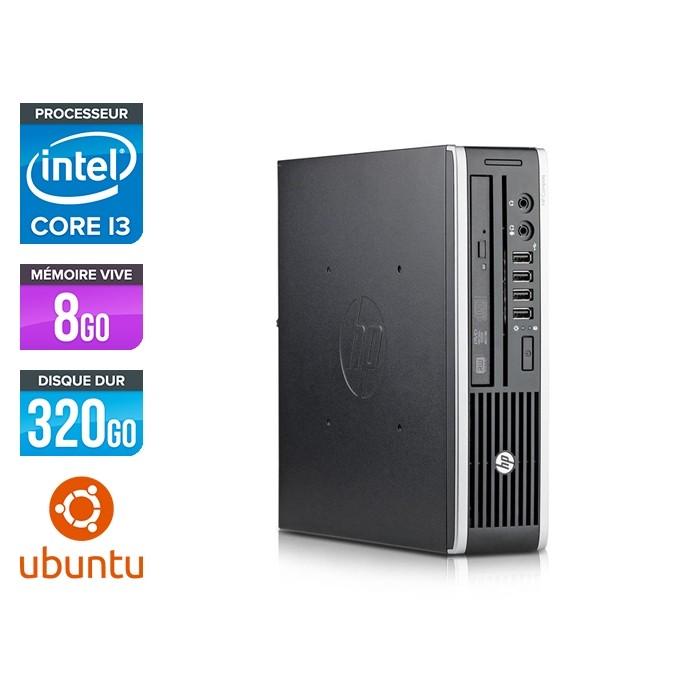 HP Elite 8200 USDT - i3 - 8go - 320go hdd - Linux