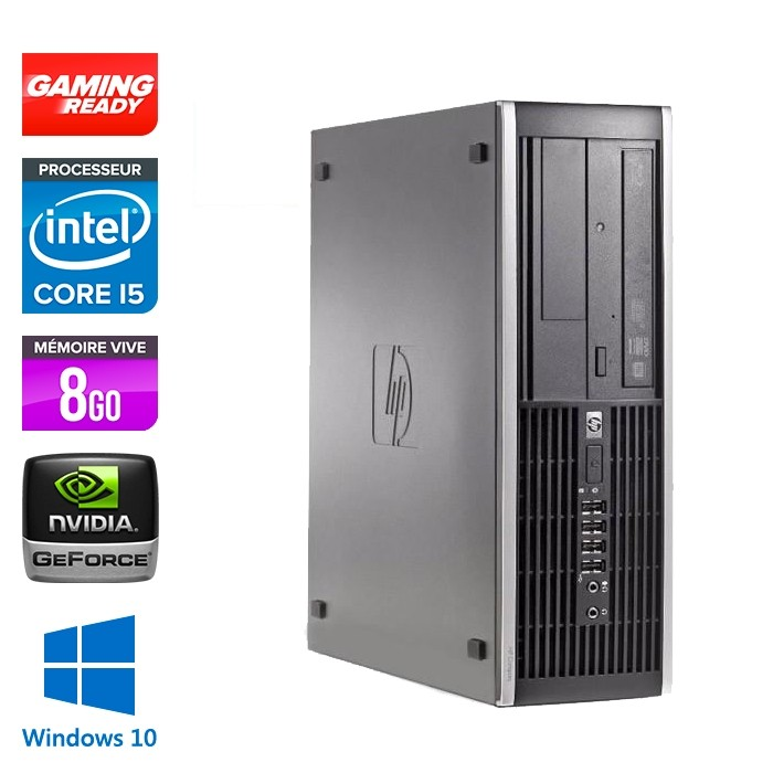 HP Elite 8300 SFF - i5 - 8Go - 500Go HDD - W10