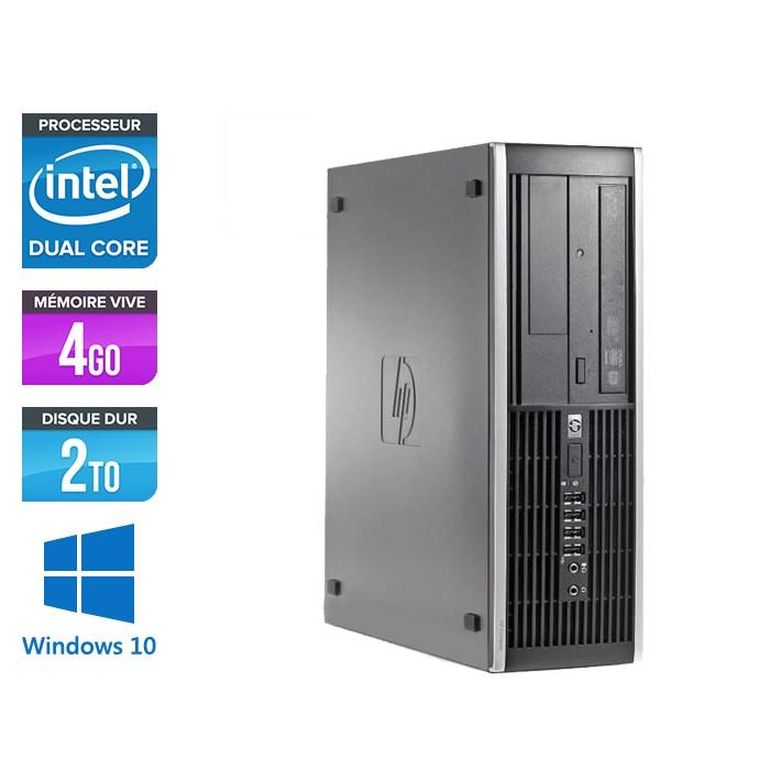 HP Elite 8300 SFF - G2120 - 4Go - 2To HDD - Windows 10