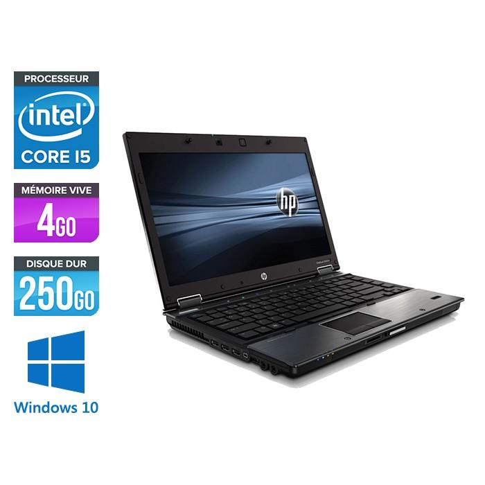 HP 8440P - i5 - 4 Go- 250 Go HDD - 14'' - Windows 10