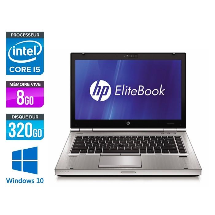 HP EliteBook 8470P - i5 - 8Go - 320Go HDD - Windows 10