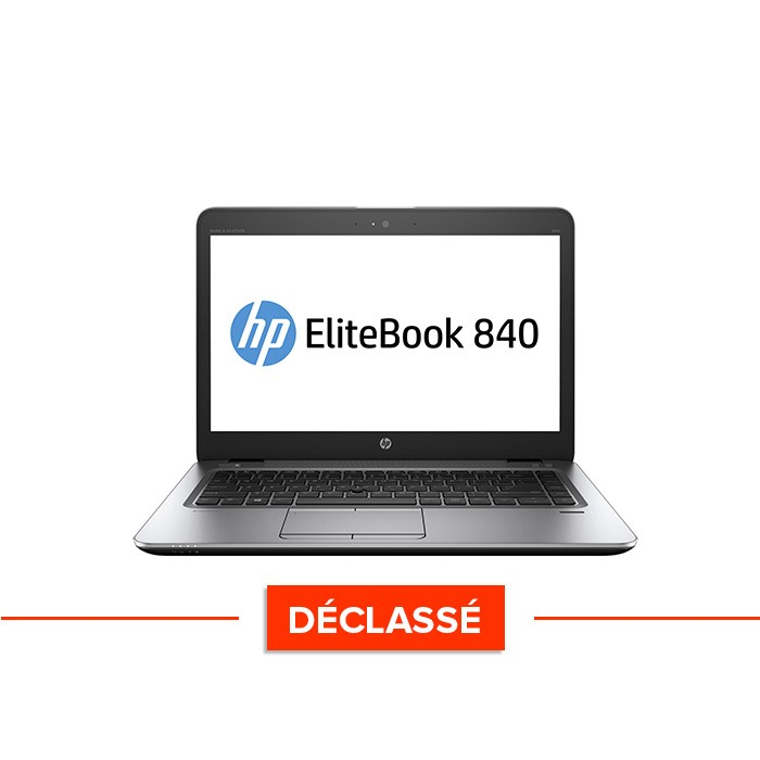 Pc portable - HP Elitebook 840 G1 - i5 4300U - 8 Go - 500Go HDD - 14'' HD - Windows 10 - declasse
