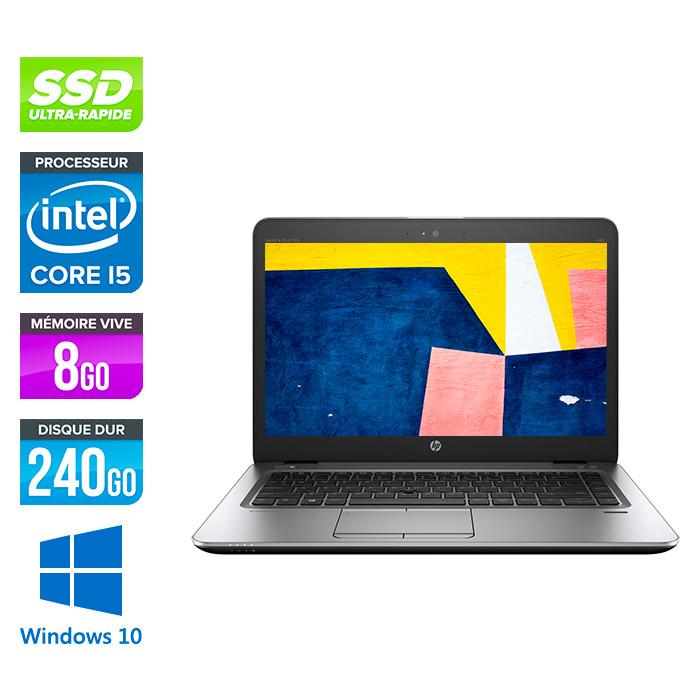 HP Elitebook 840 - i5 4200U - 8Go - 240 Go SSD - 14'' HD - Windows 10
