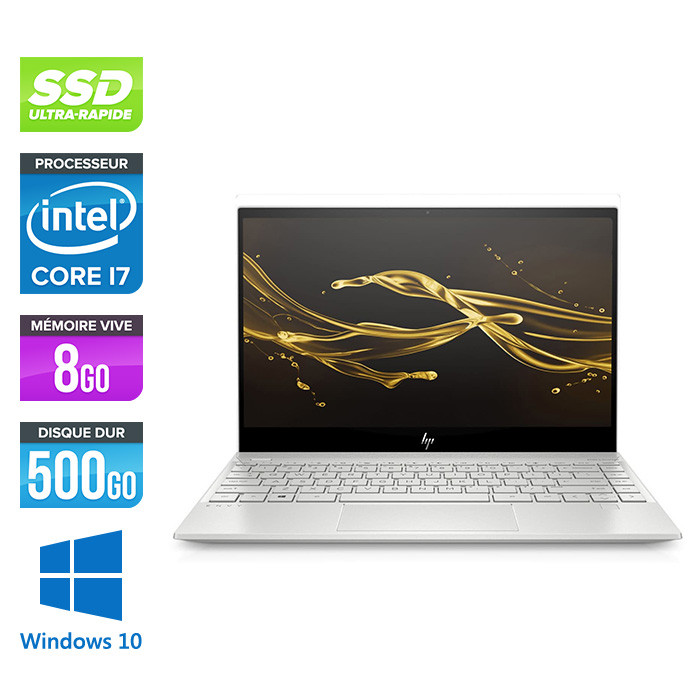 HP Envy 13-aq1003nf - i7 - 8Go - 512Go SSD - Windows 10