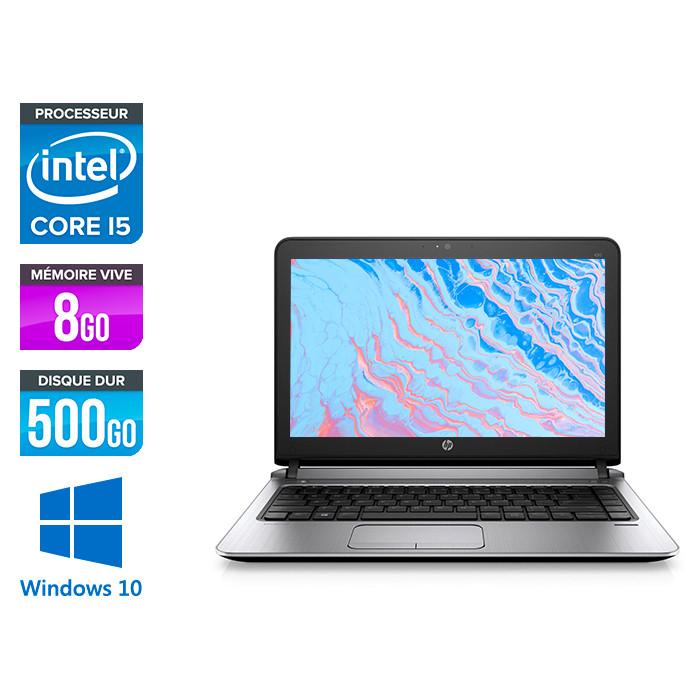 HP 430 G3 - i5 6200U - 8Go - 500Go HDD -13.3'' - W10