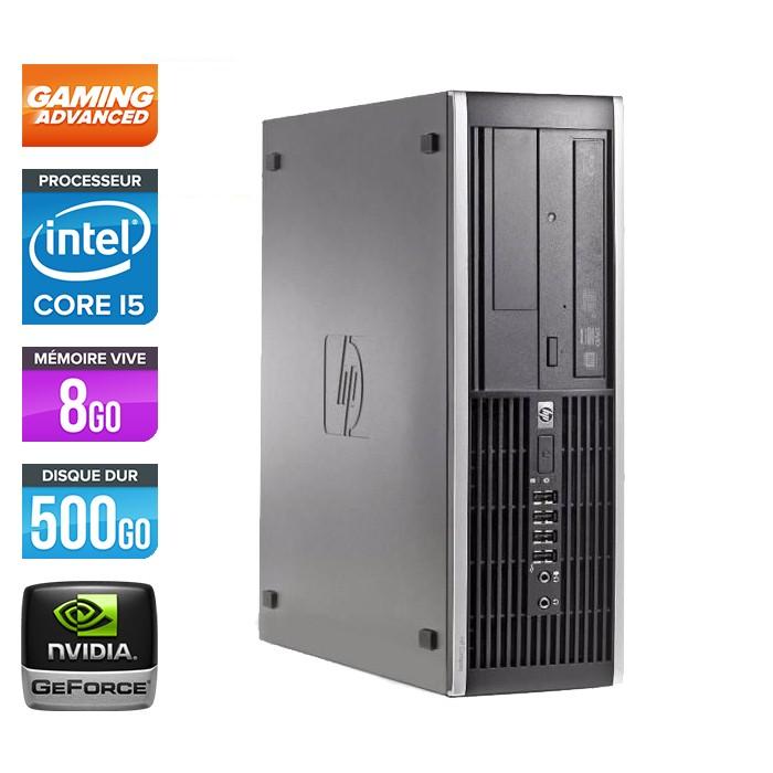 HP Elite 8300 SFF - Core i5 - 8Go - 500Go - Nvidia GTX 750 Ti