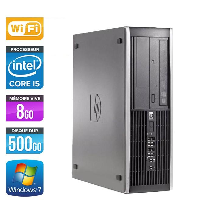 HP Elite 8300 SFF - Core i5 - 8Go - 500Go - Wifi