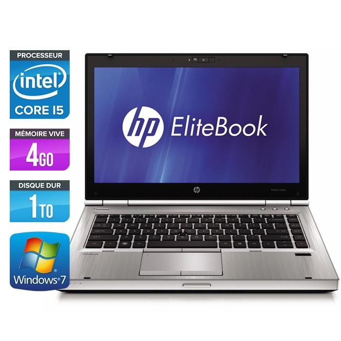 HP EliteBook 8470P - Core i5 - 4Go - 1To