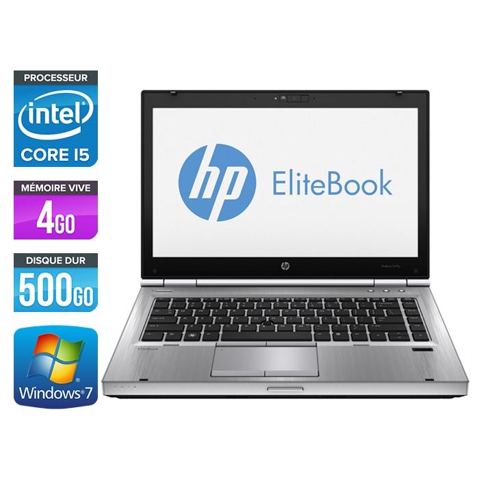 HP EliteBook 8470P - Core i5 - 4Go - 500Go