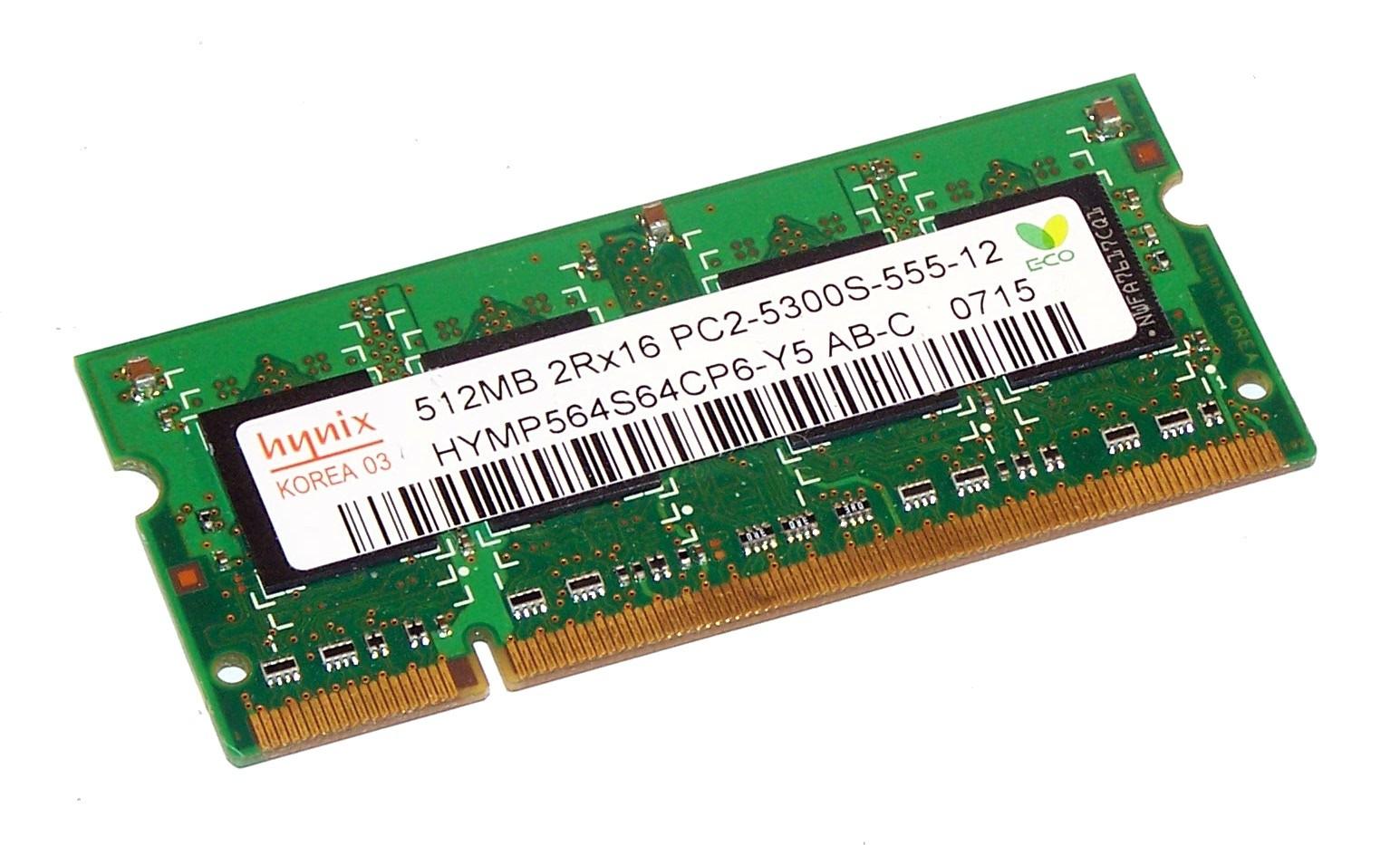 Hynix - HYMP564S64CP6-Y5 - 512 MB - DDR2 - 667 MHZ - PC2 5300S