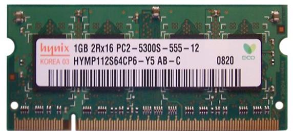 Hynix - SO-DIMM - 1 Go - DDR2 - 667 MHZ - PC2 5300S