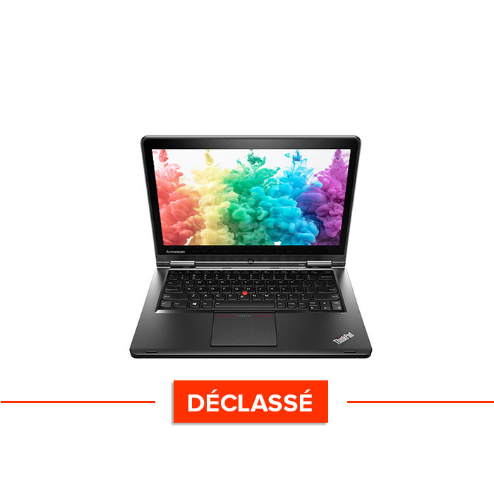 Pc portable - Lenovo ThinkPad S1 Yoga - Trade Discount - déclassé - i5 - 8 Go - 320 Go HDD - Webcam - Windows 10 famille