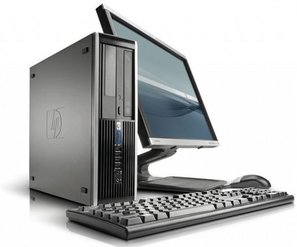 HP Elite 8100 SFF + Ecran 19""