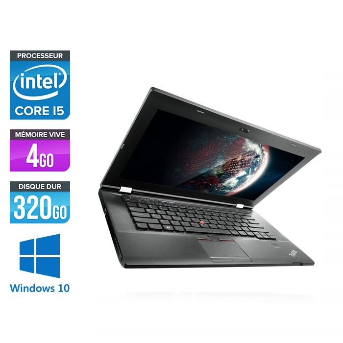 Lenovo ThinkPad L430 - i5 - 4 Go - 320 Go HDD - Windows 10