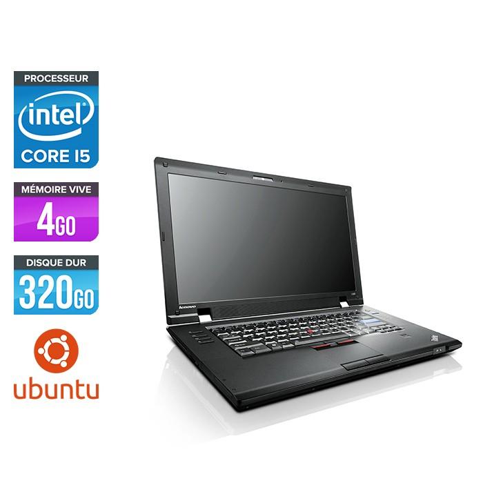 Lenovo ThinkPad L520 - i5 - 4 Go - 320 Go HDD - Linux