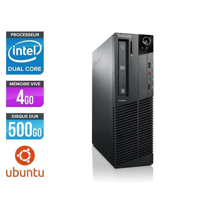 Lenovo M73 SFF - i5 - 4 Go - 500 Go HDD - Linux