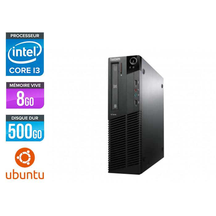 Lenovo ThinkCentre M82 SFF - i3 - 8Go - 500Go - Linux