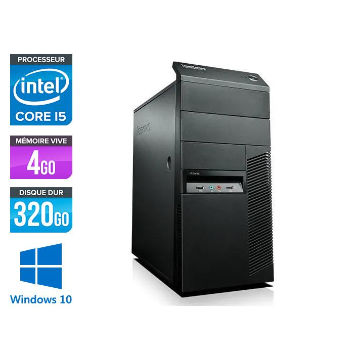 Lenovo ThinkCentre M82 Tour - Intel i5- 4Go - 320Go - W10