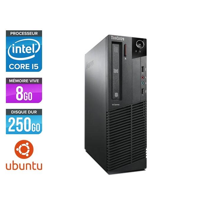 Lenovo ThinkCentre M91P Desktop - i5 - 8Go - 250Go - Linux