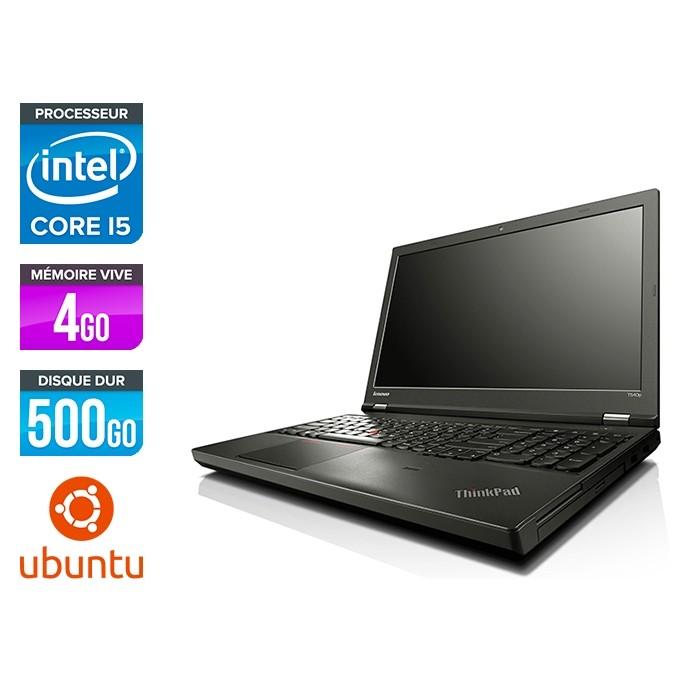 Lenovo ThinkPad T540P - i5 - 4Go - 500Go - Linux