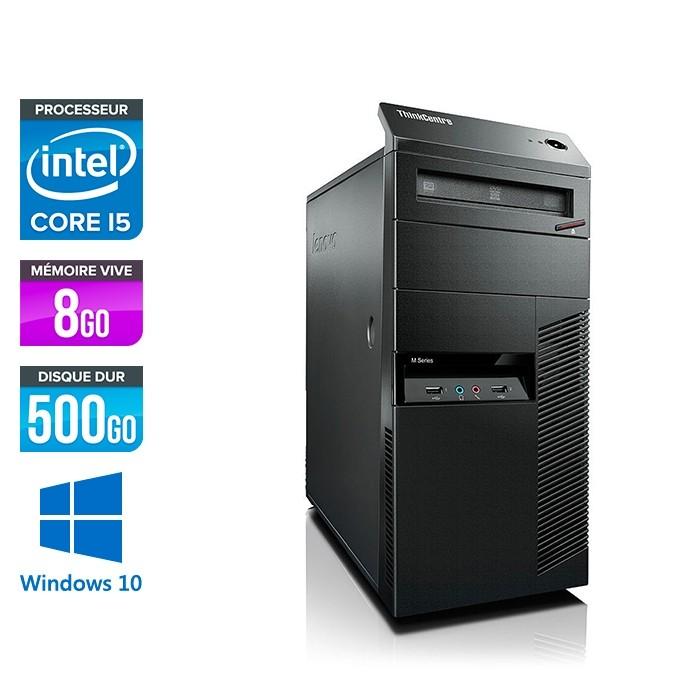 Lenovo ThinkCentre M92P Tour - i5 - 8Go - 500Go HDD - Windows 10