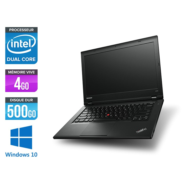 Lenovo L440 -  Celeron 2950M - 4Go - 500Go - Windows 10 home