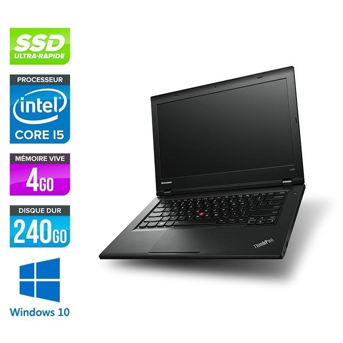 Lenovo L440 -  Celeron 2950M - 4Go - 240Go SSD - Windows 10 home