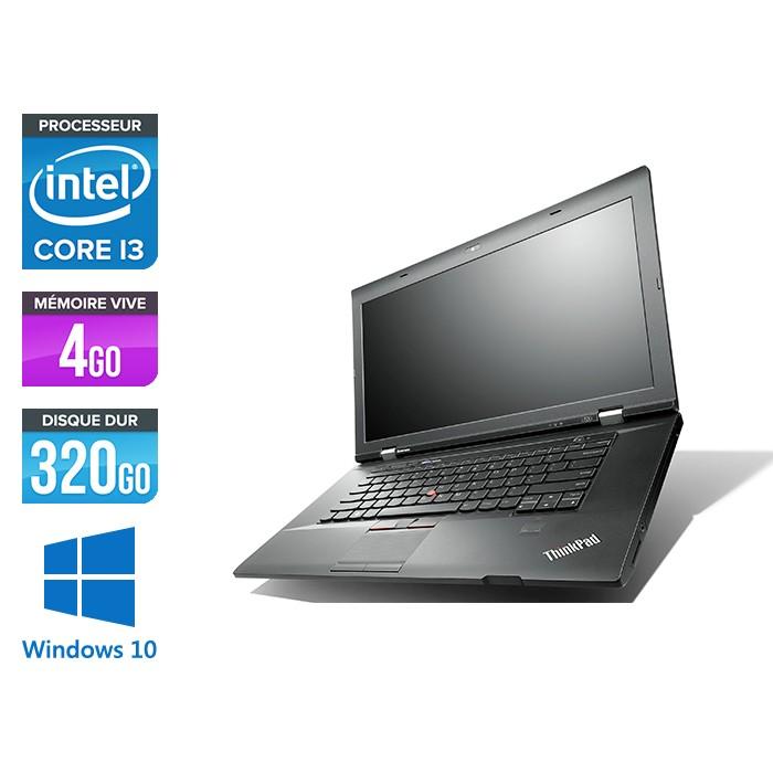 Lenovo ThinkPad L530 - i3 - 4 Go - 320 Go HDD - Windows 10