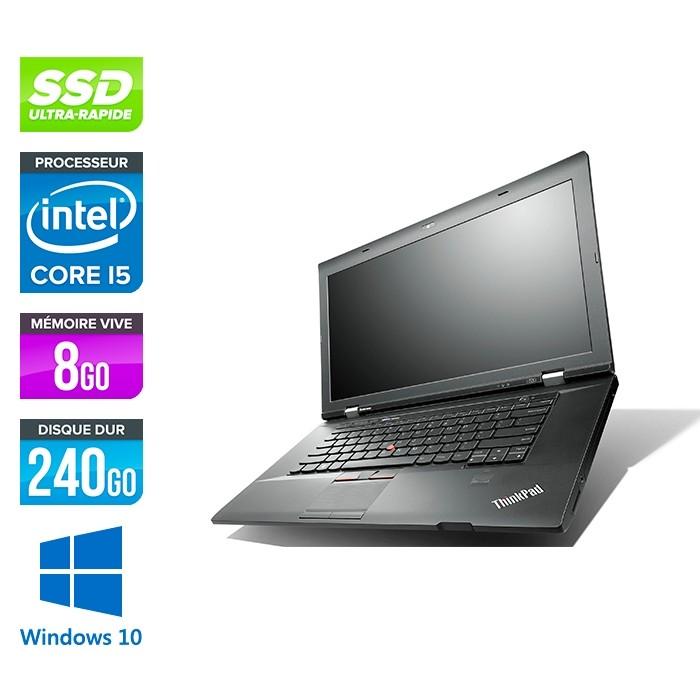 Lenovo ThinkPad L530 - i5 - 8Go - 240Go HDD - Windows 10