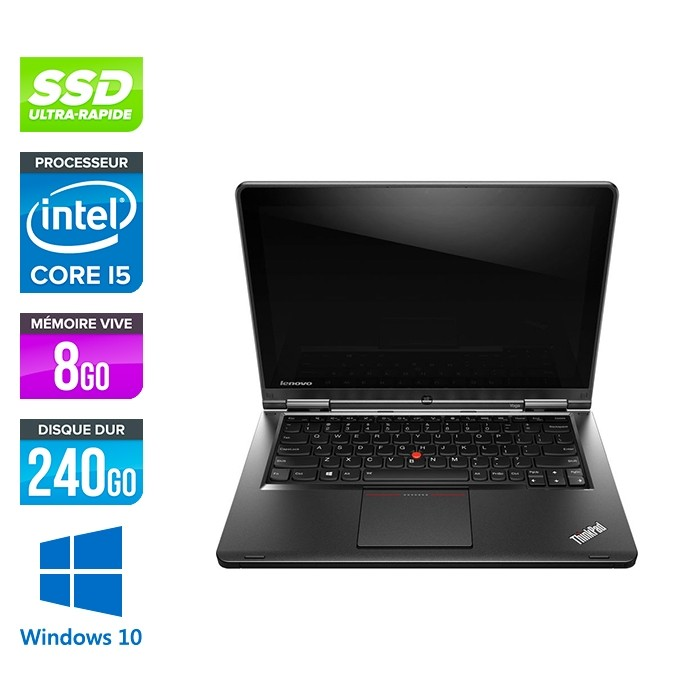Lenovo Yoga S1 - i5 - 8Go - 240Go SSD - Windows 10