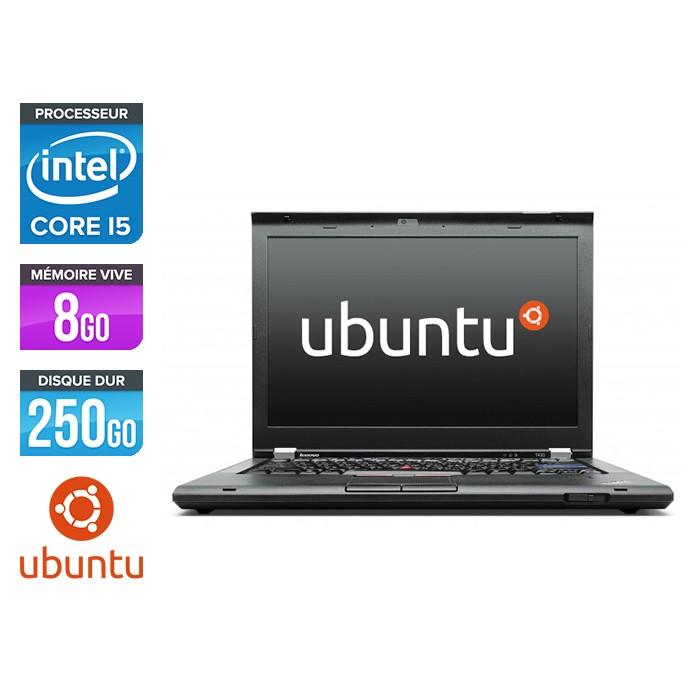 Lenovo ThinkPad T420 - i5 - 8Go - 250Go - Linux