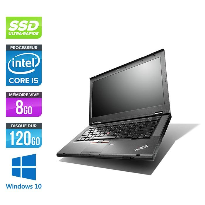 Lenovo ThinkPad T430 - i5 - 8Go - 120Go SSD - Windows 10