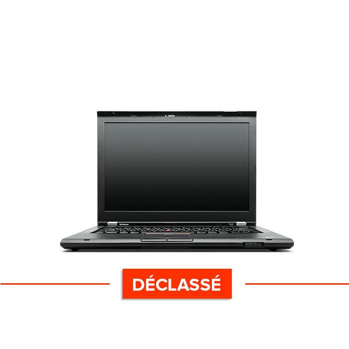 Pc portable - Lenovo ThinkPad T430 - i5 - 4Go - 320Go HDD - HD+ - WIndows 10 Famille - Trade Discount - déclassé