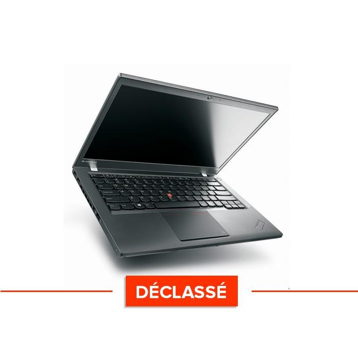 Pc portable - Lenovo ThinkPad T440 - Trade Discount - déclassé - i5 4300U - 4Go - 500GO HDD - HD - Webcam - Windows 10
