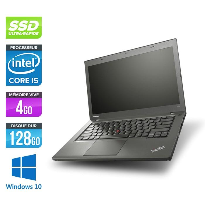 Lenovo ThinkPad T440 - i5 - 4Go - 128Go SSD - Windows 10