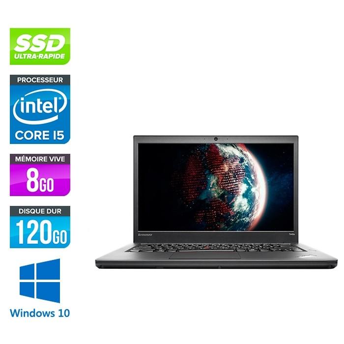 Lenovo ThinkPad T440s - i5 4300U - 8Go - SSD 120Go - Windows 10 professionnel - 2