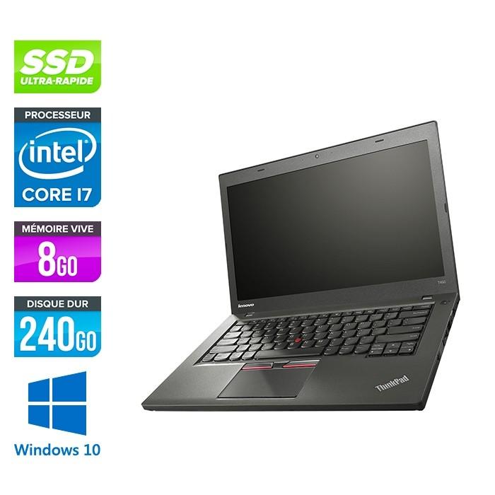 Pc portable occasion Lenovo Thinkpad T450 - i7 - 8Go - 240Go SSD - Windows  10 - Trade Discount 7ebf5b82a016