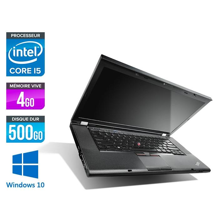 Lenovo ThinkPad T530 - i5-3320M - 4Go - 500Go - Windows 10