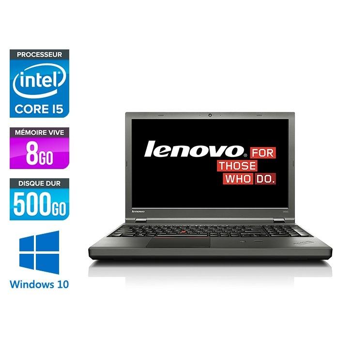Lenovo ThinkPad W540 -  i5 - 8Go - 500Go HDD - Nvidia K1100M - Windows 10