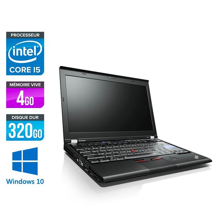 Lenovo X220 - i5 - 4Go -320Go HDD - 12,5'' - W10