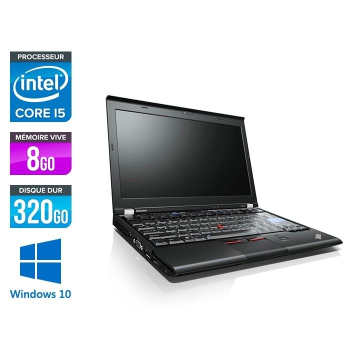 Lenovo X220 - i5 - 8Go - 320Go HDD - 12,5'' - W10