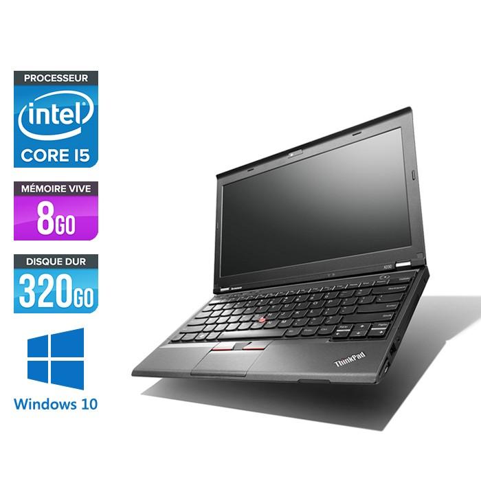 Pc portable - Lenovo ThinkPad X230 - Core i5-3320M - 8 Go - 320 Go HDD - Windows 10 home