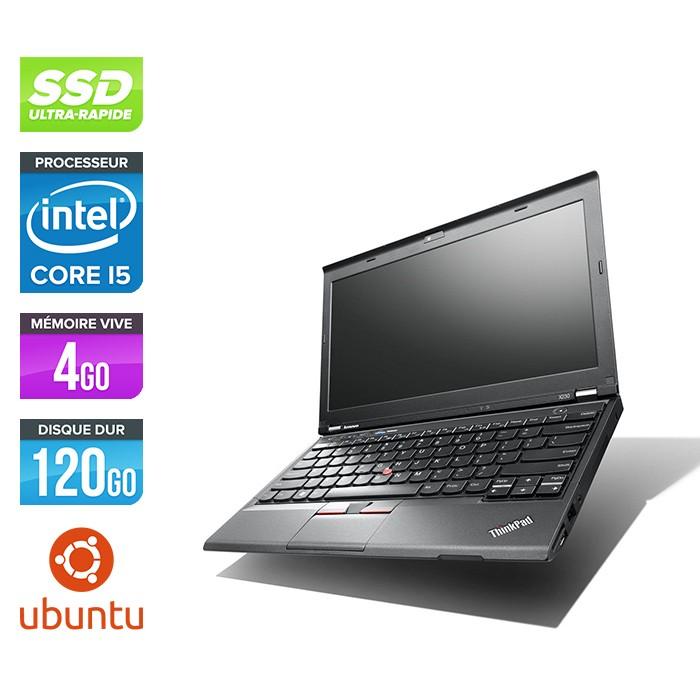 Lenovo ThinkPad X230 - Core i5-3320M - 4 Go - 120 Go SSD -  Linux