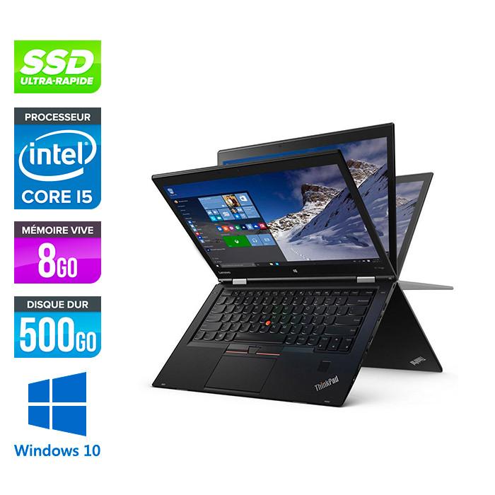 Lenovo X1 Yoga - reconditionne - i5 - 8Go - 500Go SSD - W10