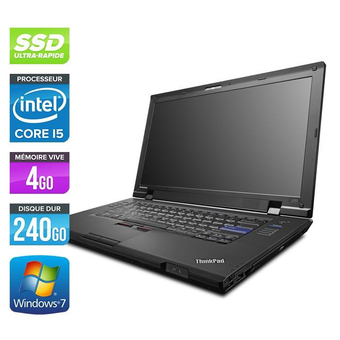 Lenovo ThinkPad L512 - Core i5 - 4Go - 240Go SSD
