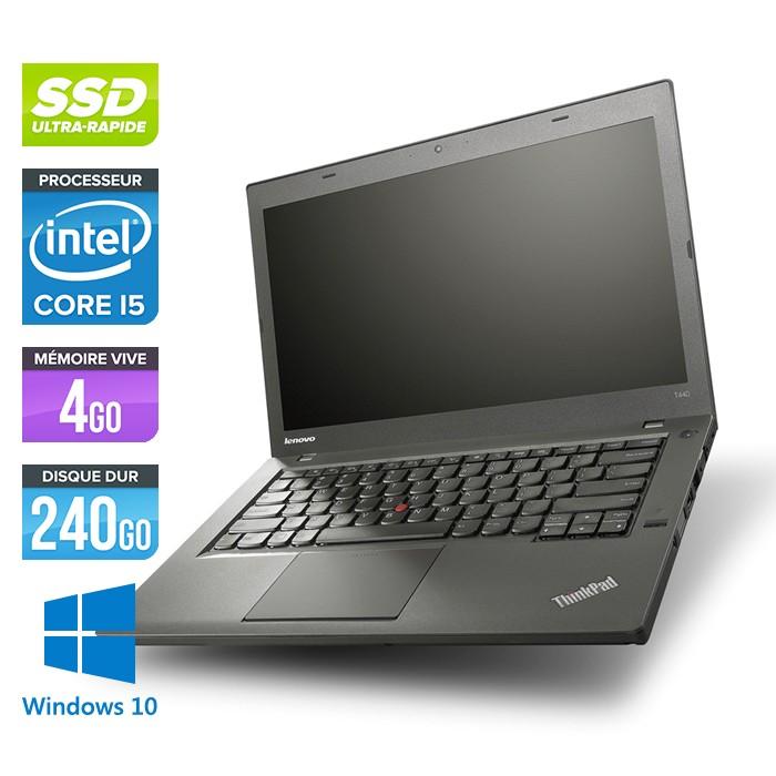 Lenovo ThinkPad T440 - Core i5 - 4Go - 240Go SSD